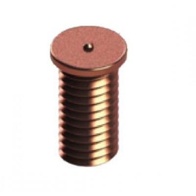 Шпилька приварная, резьбовая омедненная (болт приварной) (М-3) TK-100709