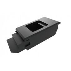 Замок-защелка сдвижная для шкафа (0,80-2 мм) TK-100323-2