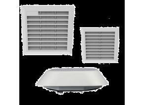 Вентиляционные решетки и вентиляторы